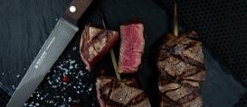 SIRIUS Steakmesser 11 cm aus Damast DSC® inox