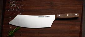 "MIU BBQ-Knife 8"" with a walnut handle"