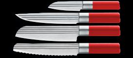 AML LINES Messerset 4- tlg ROT