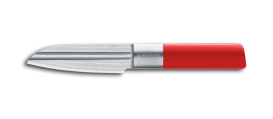 "AML LINES Paring knife 4,5"" RED"