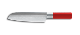 "Absolute ML LINES Santoku knife 7,5"" RED"