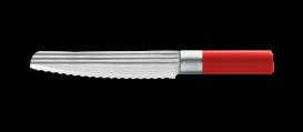 AML LINES Brotmesser 20cm, ROT