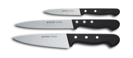 STARTER SET - GLORIA 3 piece knife Set