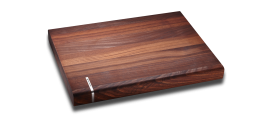 Cutting board, solid walnut 16x12x1,5""