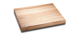 Cutting board, solid oak wood, 16x12x1,5""