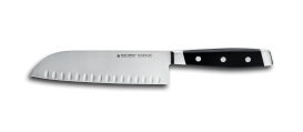 "FIRST CLASS Santoku Knife, 7"" with hollow edge"