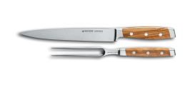 FIRST CLASS WOOD  2 piece carving set