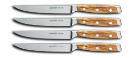 FC WOOD Steak Knife Set 4 pcs.