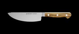 "GLORIA LUX herbs knife olive handle 6"""