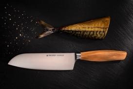 """SIZE S OLIVE Santoku knife 6,5"""""""