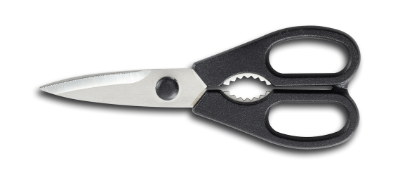 Kitchen shears, stainless, dettachable