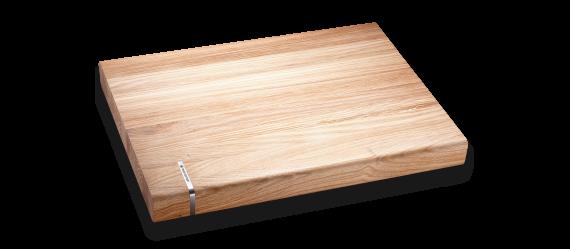 """Cutting board, solid oak wood, 16x12x1,5"""""""