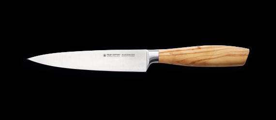 SIZE S OLIVE Zubereitungsmesser 15 cm