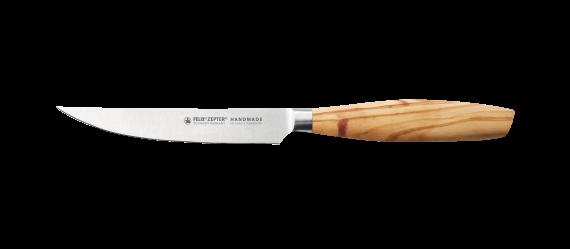 "SIZE S OLIVE Steak knife 4,5"""