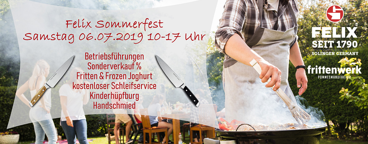 Banner Sommerfest